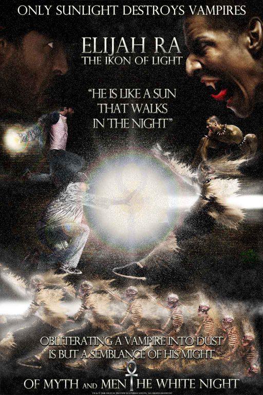 Elijah Ra vs. Vampire (poster 1)